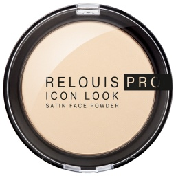 Фото - RЕLОUIS Пудра компактная RELOUIS PRO Icon Look Satin Face Powder